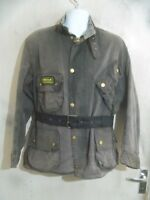 BARBOUR A7 INTERNATIONAL SUIT WAXED MOTORCYCLE JACKET SIZE C48 122CM