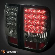 2006-2011 Ford Ranger LED Tail Lights Rear Brake Stop Lamps Smoke Replacement