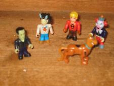 SCOOBY DOO TV SERIES FRIEND POSEABLE SET X 5 PLAYFIGURES COMPACT LEGO MEGA BLOKS