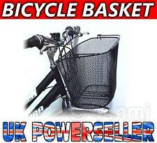 Large Black Mesh Bike Bicycle Front SHOPPING BASKET