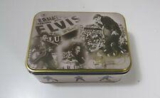 Elvis Presley 2003 Collector Rectangular Tin Box