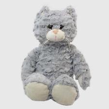 "Wishpets 10"" Softex Sitting Gray Cat Plush Toy"