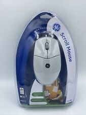 General Electric GE Scroll PS2 Wired Mouse 97859 FREE SHIP