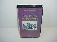The Three Musketeers Gene Kelly VHS Video Tape Movie Clamshell