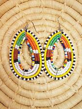 New African Maasai Earrings Masai Massai Africa S/M jemo417