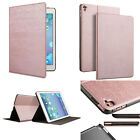 """Rose Gold PU Leather Case Smart Cover Sleep Wake Up for Apple iPad Pro 10.5 9.7"""""""