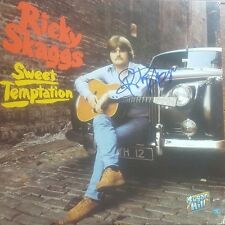 """Ricky Skaggs"" Hand Signed Album Cover Mead Chadsky Authentication"