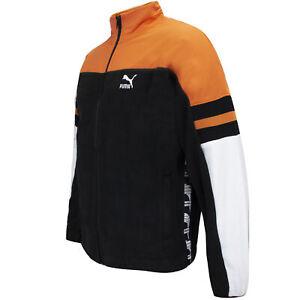 Puma Mens XTG Woven Jacket Winterized Fleece Track Top 595889 51