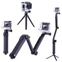 Portable GoPro 3 in 1 Monopod Tripod Pole Selfie Stick GoPro Hero 5 4 3+ 2 1
