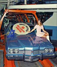 1973 Pontiac Catalina, 16th Millionth Factory Car, Refrigerator Magnet, 40 Mil