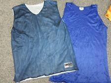 Vintage 80s 90s Teamwork & Da mesh basketball tank jersey shirt Mens Xxl lot New