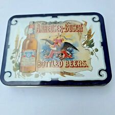 Anheuser Busch Budweiser Playing Cards in Tin 1988 - Never Used