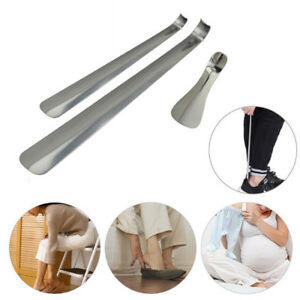 Professional Stainless Steel Silver Metal Shoe Horn Spoon Shoehorn Long handle