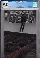 Walking Dead 100 Adlard Chromium Variant CGC 9.8 1st Print 1st Negan Lucille