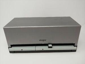 Discgear Selector 100e Auto CD DVD Blu-Ray Retrieval System Storage Box Silver