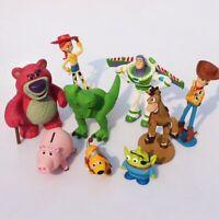 Disney Toy Story lot de 9 figurines jouets Woody Buzz l'Éclair Jessie Rex