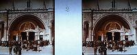 Fotografia Bocchetta La Basilica Notre-Dame-Du-Rosario Di Lourdes Verso 1920