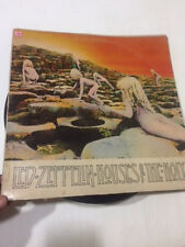 LED ZEPPELIN HOUSES OF THE HOLY RARE LP ATLANTIC stereo record vinyl INDIA VG+
