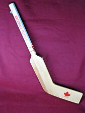 Vintage COLUMBIA ICEFIELD  Mini Wood Hockey Stick Souvenir Rare Canada Canadian