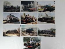 More details for steam train photos joblot with engine numbers