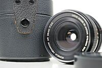 {Exc+++++} KONICA HEXANON AR 28mm f/3.5 Wide Angle Film Camera Lens From Japan