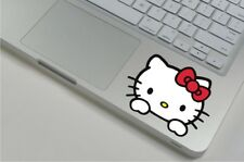"Hello Kitty A Laptop palmrest ipad surface Pro Viny Decal sticker Macbook 13""15"