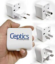Ceptics International Universal Travel Plug Converter Adapter 3 Piece Kit