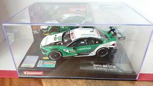 """RARE Carrera Evolution 27635 BMW M4 DTM """"M. Wittman"""" No.11 1/32 Slot Car NEW"""