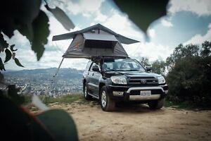 Flip Over Roof Top Tent Soft Top RTT Car Camping Car Roof Tent XL Car/Truck Tent