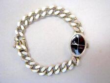 Meister Anker Silber 835 Silver Lady Watch Damen Panzer Armbanduhr um 1960