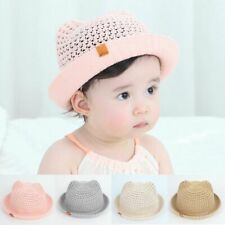 Panama Children's Summer Baby Hats Children Bucket Cap Infant Boys Girl Beach