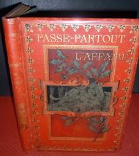 CHRISTOPHE (French Comics Pioneer) Illust, Passe-Partout et l'Affamé Guechot 1st