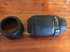 Objectif Nikon Nikkor 55-200 mm AF-S DX VR Zoom f/4-5.6G IF-ED Auto/Manuel Focus