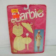 "Vtg #3183 Mattel Barbie ""FANCY FRILLS LINGERIE"" NRFP 1986 Mattel Yellow Garments"