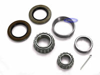 """(4) Trailer Wheel Bearings Kit 6 Bolt 1 1/4"""" (15123) x1 3/4"""" (25580) With Seals"""