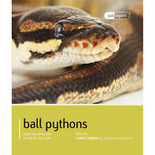 NEW:  BALL PYTHONS BOOK FROM PET EXPERT SERIES