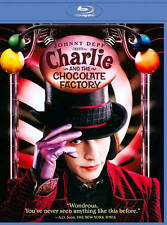 Charlie and the Chocolate Factory (Blu-ray Disc, 2011) Brand New