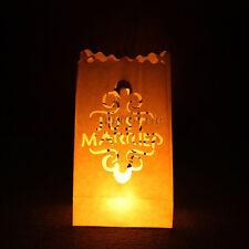Tea light Holder Luminaria Paper Lantern Candle Bag Party Wedding Decoration