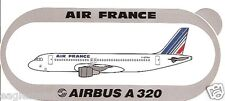 Baggage Label - Air France - A320 - F-GFKA - Airbus - Sticker (BL470)