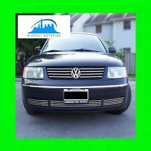 1998-2005 VW VOLKSWAGEN PASSAT LOWER CHROME GRILLE TRIM 1999 2000 2001 2002 2003