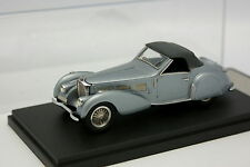 Vroom Factory Built 1/43 - Bugatti 57 S Gangloff bleue grise