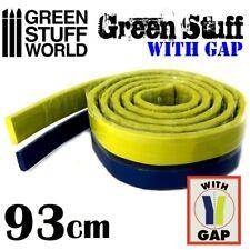 "Green Stuff World Kneadatite Blue/Yellow Green Stuff 36.5"" 93cm Epoxy Putty Bar"