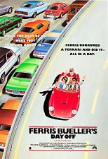 Ferris Bueller's Day Off 1986 Vintage Movie Poster A0-A1-A2-A3-A4-A5-A6-MAXI 207