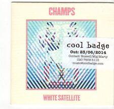 (EZ382) Champs, White Satellite - 2014 DJ CD