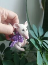 miniature teddy rat 2,9 inches