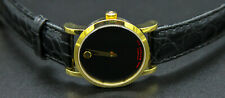 Movado Red Label Automatic Black Dial Ladies Watch 0607010 $1595