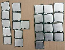 Lot of 24 Intel Core 2 Quad Q9300 2.5 Q9400 2.66 Q9500 2.83 GHz CPUs 6M 1333 Mhz