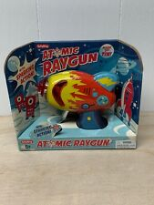 Atomic Raygun Schilling Tin Metal Blaster Laser Ray gun Space Toy Retro Red