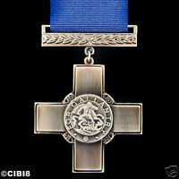 GEORGE CROSS MEDAL HIGHEST GALLANTRY AWARD CIVILIANS & MILITARY WW2 REPRO ARMY