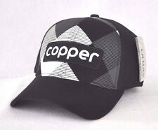 *COPPER MOUNTAIN COLORADO* TEK FLEX FITTED Ski Snowboard Ball cap hat OURAY